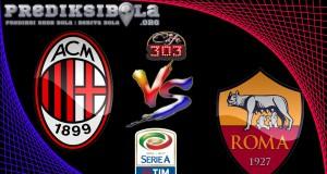 Prediksi Skor Milan Vs Roma 8 Mei  2017