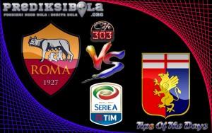 Prediksi Skor Roma Vs Genoa 28 Mei  2017