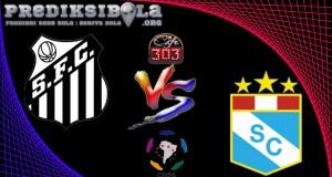 Prediksi Skor Santo Vs Sporting Cristal 24 Mei  2017