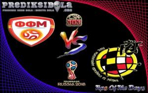 Prediksi Skor Fyr Macedonia Vs Spanyol 12 Juni 2017
