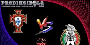 Prediksi Skor Portugal Vs Meksiko 18 Juni 2017