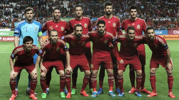 Spanyol football team