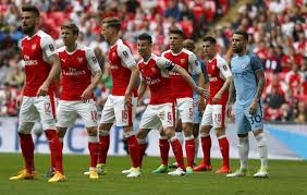 ARSENAL team football 2017