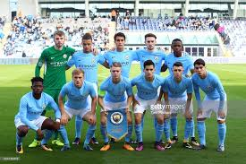 MANCHESTER CITY team football 2017