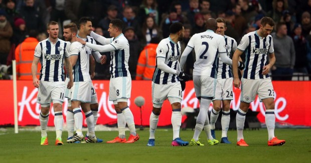 WEST BROMWICH ALBION team footbal 2017