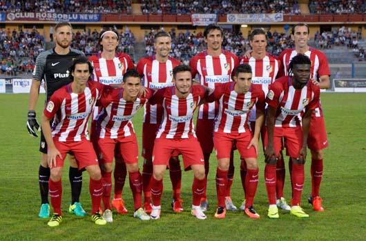 ATLÉTICO MADRID team football 2018