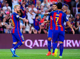 BARCELONA TEAM FOOTBALL 2017