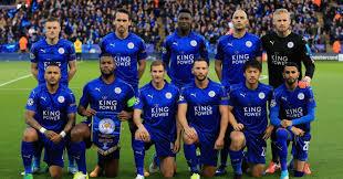 LEICESTER CITY team football 2017