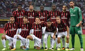 MILAN team football 2017