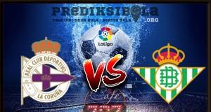 Prediksi Skor Deportivo La Coruna Vs Real Betis 13 Februari 2018