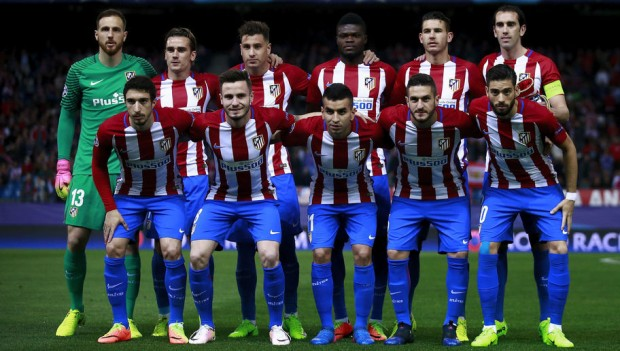 Atletico Madrid Team Football 2018