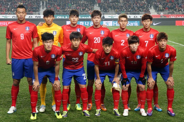 KOREA Team Football 2018