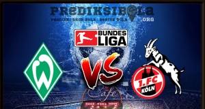 Prediksi Skor Werder Bremen Vs Koln 13 Maret 2018