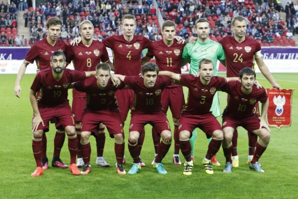 "RUSSIA Team Football 2018 ""width ="" 584 ""height ="" 390 ""/> </p> <p> <span style="