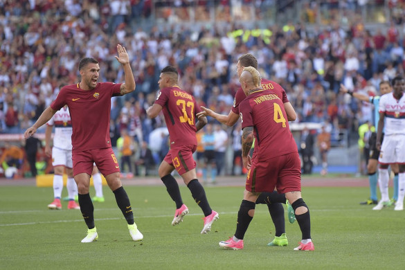 ROMA Team Football 2018 &quot;width =&quot; 585 &quot;height =&quot; 390 &quot;/&gt; </p> <p> <span style=